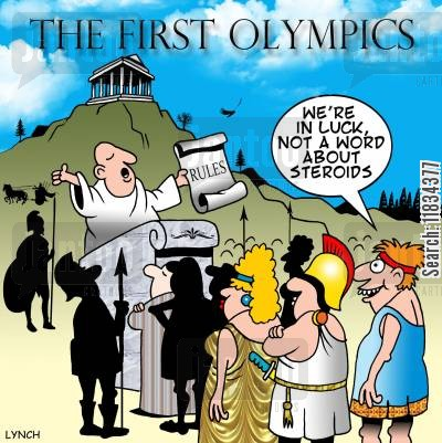 When were steroids first used in the olympics can steroids cure pneumonia